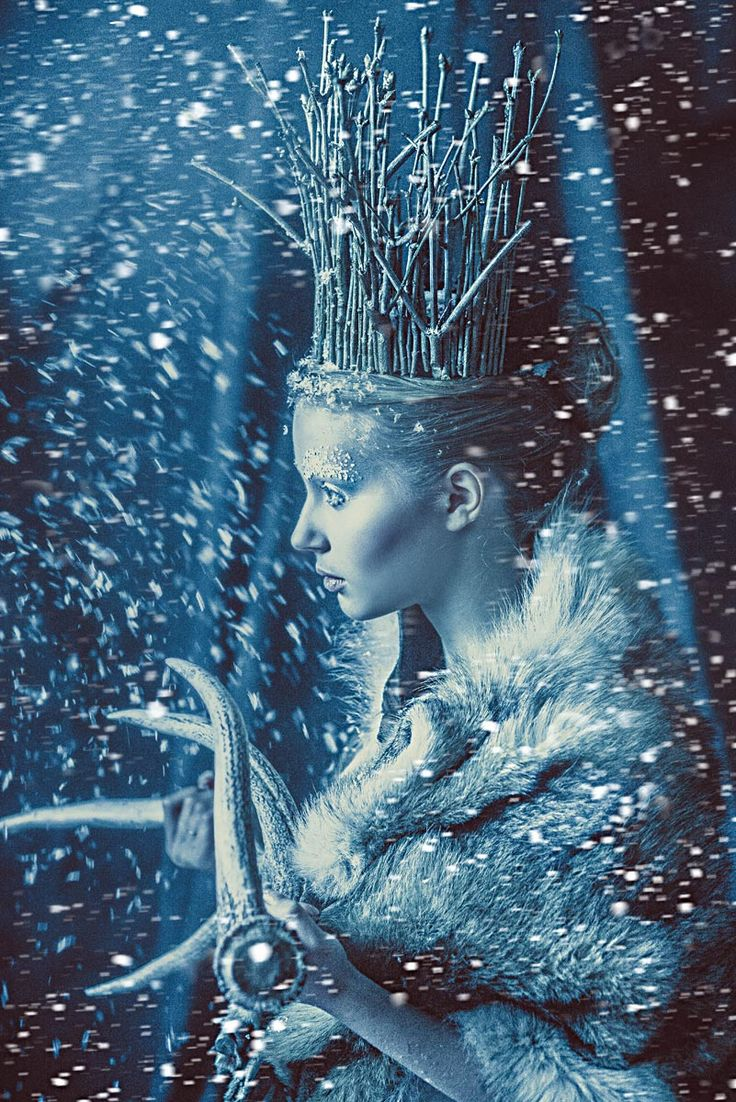 Modern Fairytale. Queen of Ice and Snow / karen cox.  Ice lady by gaolst