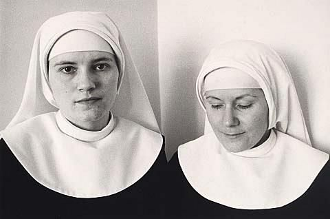 Anne Noble Sister Luke and Sister Therese, novices in the community