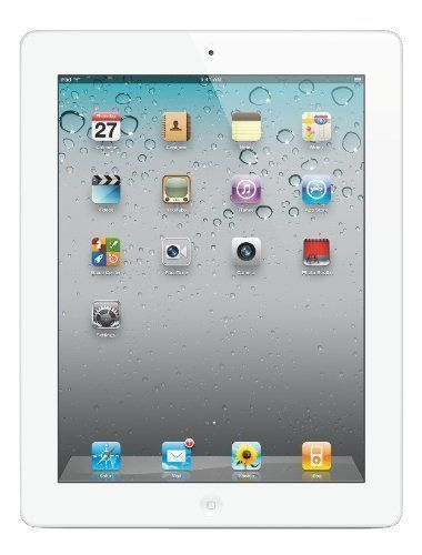 Apple iPad 2 MC979LL/A 2nd Generation Tablet (16GB Wifi White) (Certified Refurbished)