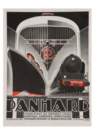 Panhard Car Advert  ~Repinned Via Chance Temple                                                                                                                                                                                 More