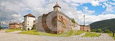 Brasov Citadel (Cetatea Brasovului) Editorial Image