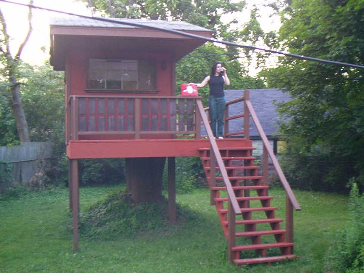 116 best images about treehouse and playhouse ideas for for How to build a treehouse step by step