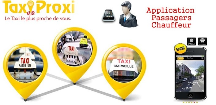 Applications Mobile Taxi Proxi  http://www.taxiproxi.fr/application-iphone-android-taxi-proxi.php