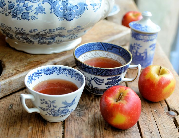 """A traditional English Wassail recipe that originates from Suffolk which is a delectable hot, spiced mulled cider with sherry and port and is served with the all important baked apples. A Yorkshire version called """"Lamb's Wool"""" is made with ale instead of cider and is served when the apples have burst, so the pulp looks like lamb's wool in the mulled ale."""