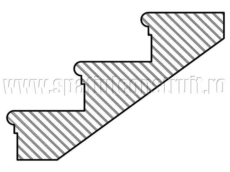 Staircases: general concepts & classifications/ Scari: notiuni generale, clasificari >> Bullnose steps/ Trepte cu muchie profilata