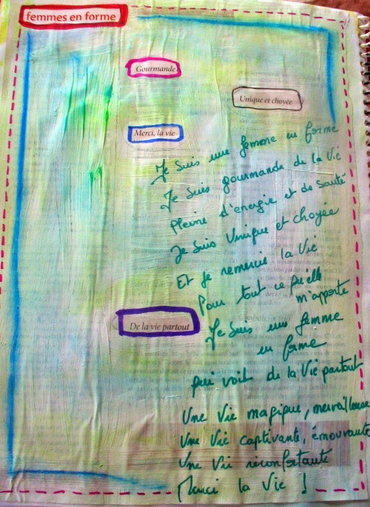 Voici un exercice qui m'a été inspiré par mon cours en journal d'artiste avec Anne Marie Jobin . Je l'ai réalisé avec une amie et ...