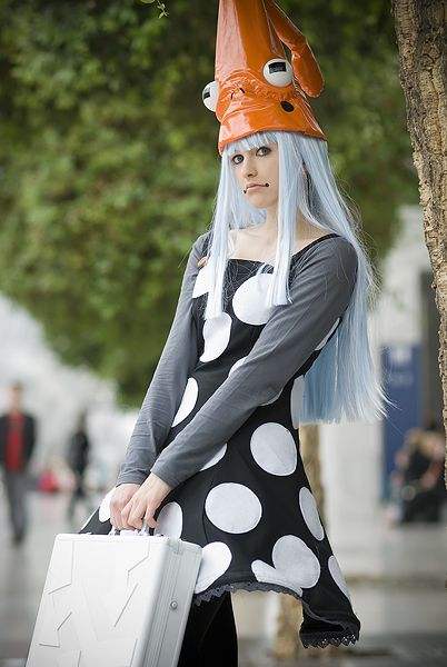 Toad Witch from Soul Eater. Well it seems some one else is going as blair :'( maybe i can go as her?
