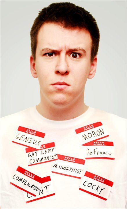 Philip DeFranco. He speaks his mind and isn't afraid of what people may say or think of him. He has a voice and isn't afraid to hide it. He is hilarious, brilliant, well-spoken and has dimples to die for.