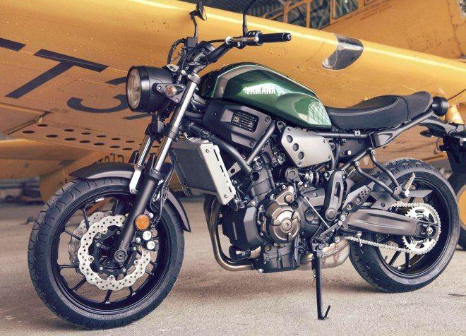 ヤマハ、スポーツヘリテージバイク「XSR700」を英国で発表―レトロスタイルと最新のテクノロジーの融合 - えん乗り