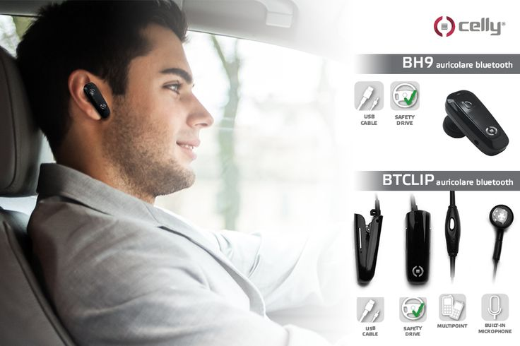 Choose lightness, ergonomics and safety of #earphones Celly for handsfree calls wherever you are.