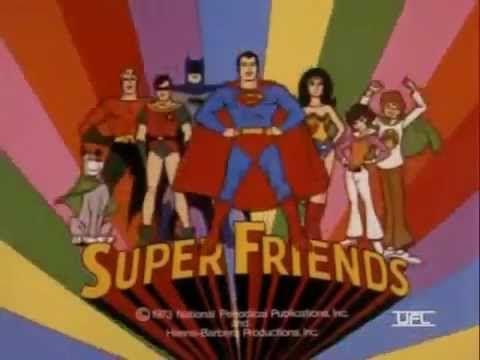 Los Super Amigos 1973 - Intro latino - YouTube