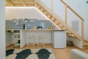 Este apartamento está localizado em Olhão, a 4 km da Ilha da Culatra, e dispõe de acesso Wi-Fi gratuito.