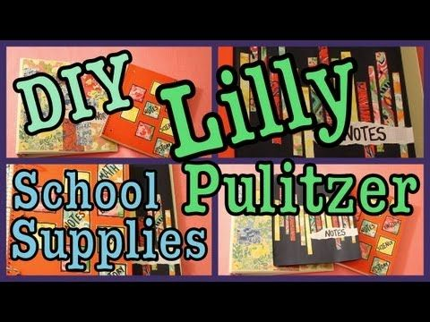 36 best images about school supplies diy on pinterest for Lilly d s craft supplies
