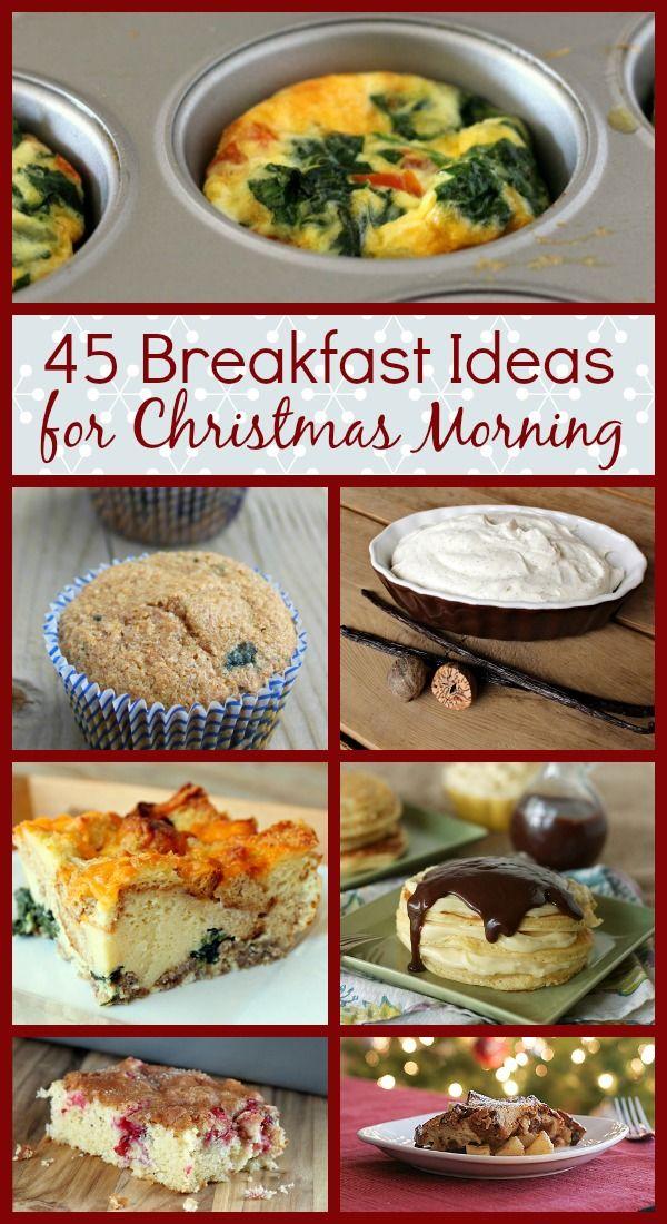 45 Recipe Ideas for Christmas Morning Breakfast on RachelCooks.com