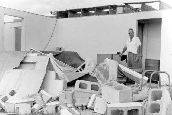 Hurricane Donna, 1960 Category 4 Hurricane Donna created the only hurricane-force winds ever recorded across the whole East Coast from Florida to New England.