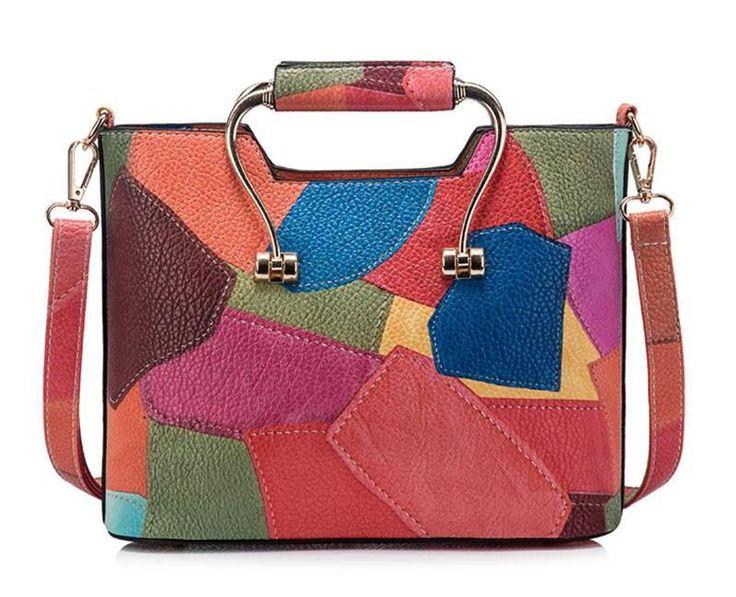 Patchwork Shoulder Bag Veiss – Floral Cat
