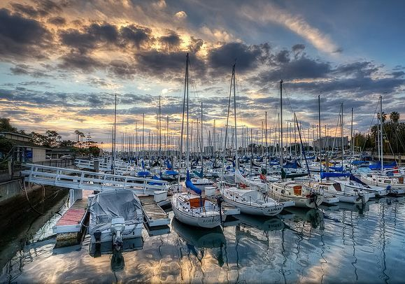 Marina del Rey, California - USA