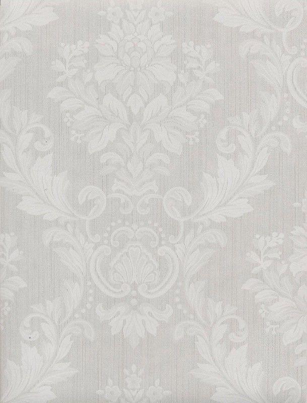Papel pintado barroco: papel pintado damasco textura beige barroco