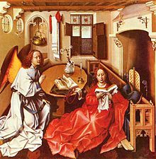 26/04/1444 : Robert Campin, peintre flamand (° vers 1378).