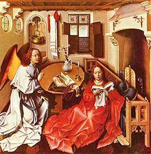 26/04/1444 : Robert Campin, peintre flamand (° vers 1378).