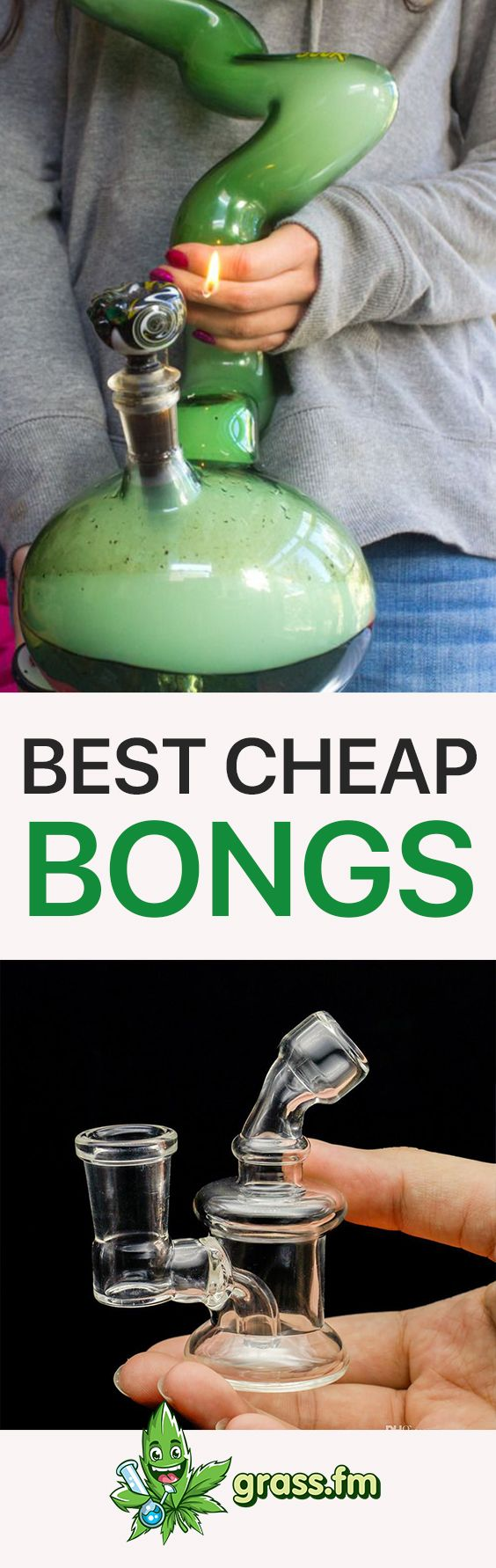 Click here to discover the best cheap bongs! #marijuana #pipe #weed #420 #bong #stoner