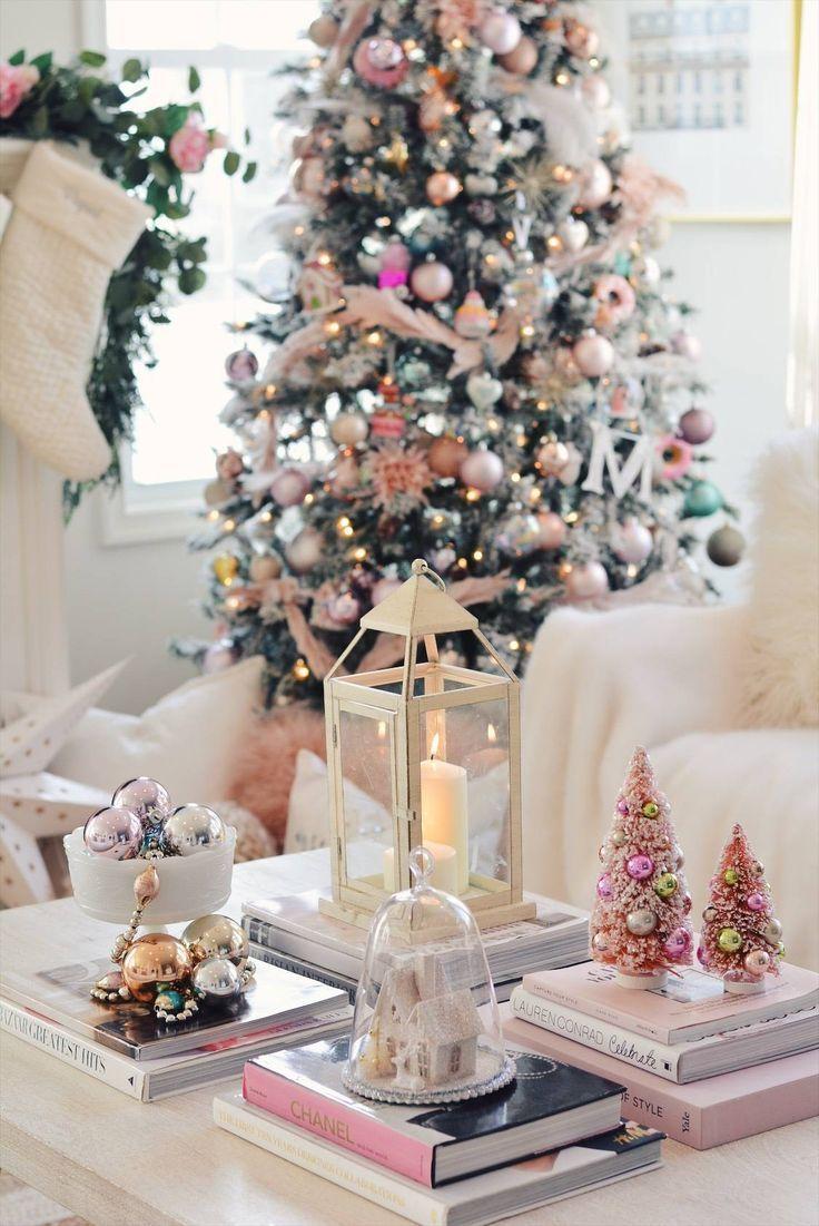 Elegant Christmas Pink Christmas Tree Decor The Pink Dream Elegant Christmas Decor Rose Gold Christmas Decorations Pink Christmas Decorations