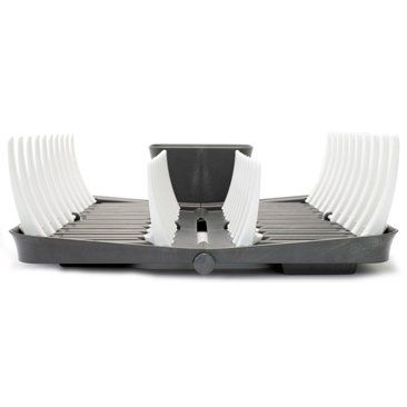 Check out this item at One Kings Lane! Smart Dish Rack, Graphite