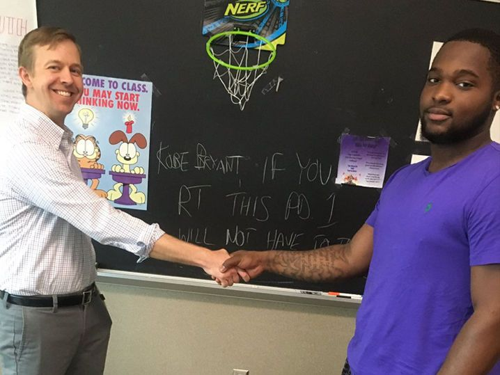 Kobe Bryant Helps High School Class Skip Final Exam (VIDEO)