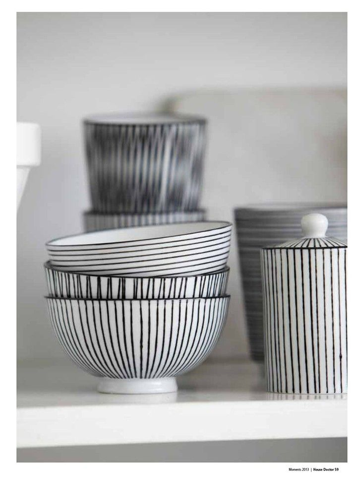 Penstripe Ceramics by House Doctor. Mug €4,95 www.goeds.nl