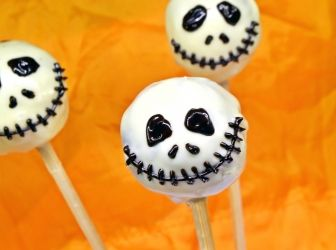 Halloween pop cake recept