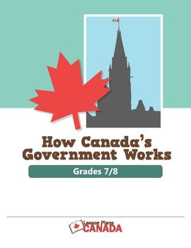 How Canada's Government Works (Grades 7-8)
