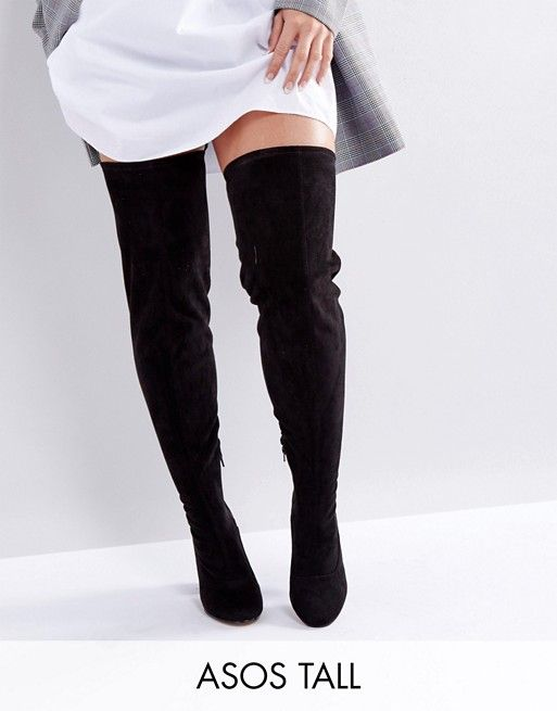 112fb6698641 KATCHER Wide Fit Tall Over The Knee Boots