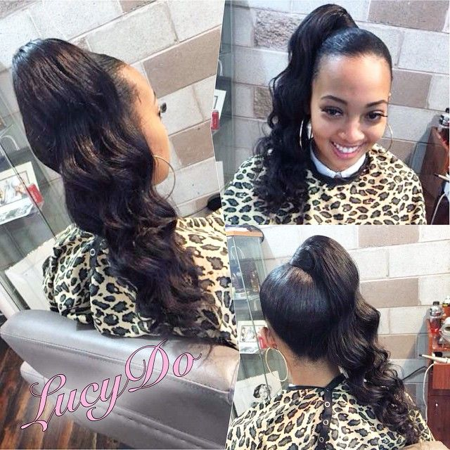 25 beautiful high curly ponytail ideas on pinterest curly high curly ponytail pmusecretfo Image collections