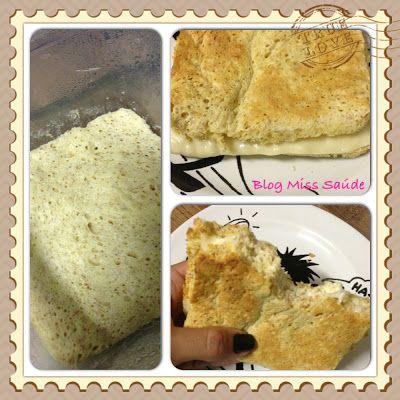 Pão de microondas dukan 1 ovo; 1 colher de sopa de aveia em flocos finos; 1 colher de sopa de farinha de trigo integral; 1 colher de sopa de requeijão cremoso light; 1 colher de café bem cheia de fermento em pó.