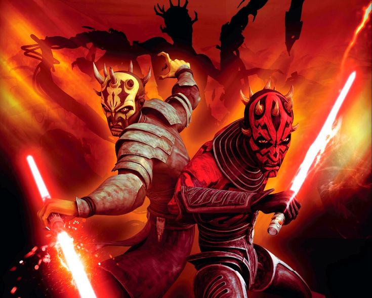 Maul and Savage /by ?? #StarWars #art