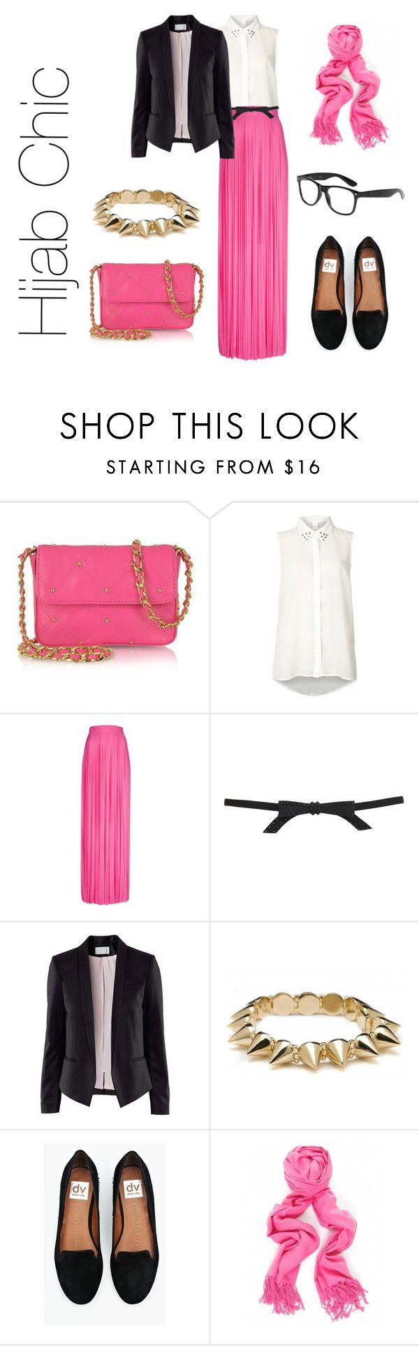 """""""Hijab Chic"""" by fashion4arab ❤ liked on Polyvore featuring Juicy Couture, VILA, Frankie Morello, Topshop, H&M and CC SKYE"""