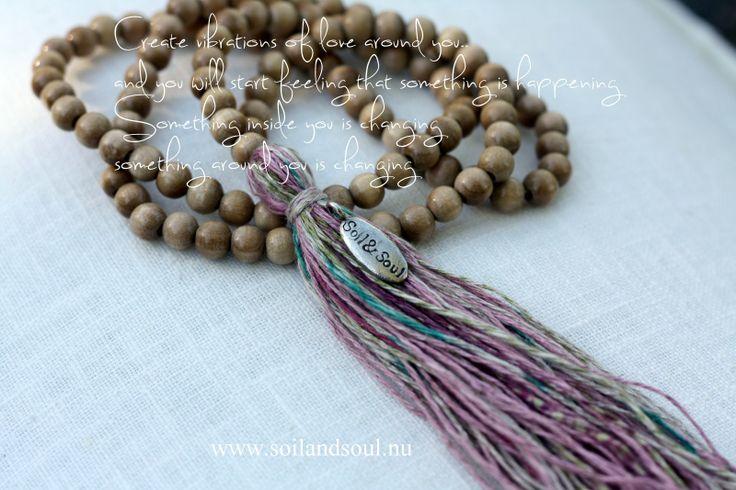 "Mala - ""Vibrations of Love"" www.soilandsoul.nu"