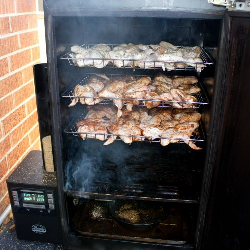 Smoked Chicken Wings recipe - done in the Bradley Smoker