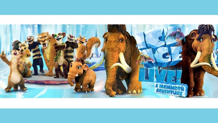Win an Ice Age Live Experience with Happy Mum Happy Child