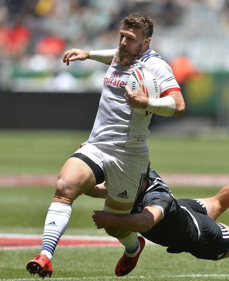 Stephen Tomasin of Untied States, rugby sevens