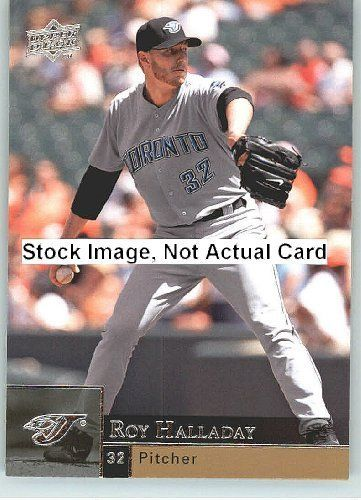 2009 Upper Deck Baseball Card # 383 Roy Halladay ( Blue Jays ) MLB Trading Card in a Protrective Screw Down Display Case by Upper Deck. $2.95. 2009 Upper Deck Baseball Card # 383 Roy Halladay ( Blue Jays ) MLB Trading Card in a Protrective Screw Down Display Case