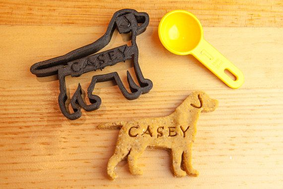 Labrador Retriever Cookie Cutter Custom Treat by NameThatCookie, $18.00