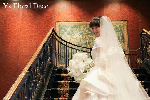 10月にウェスティンホテル東京さんで挙式ご披露宴の新婦さんより、当日のお写真をいただきましたので、ご紹介します。ウェスティンのドラマティックな階段での新婦...