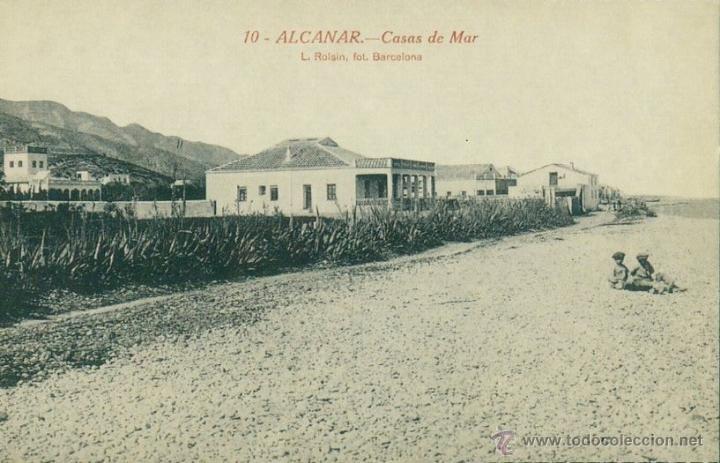 postal diari de tarragona 31 - alcanar, casas de mar