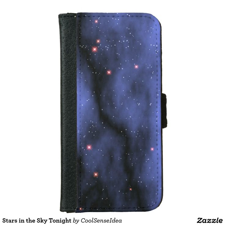 Stars in the Sky Tonight iPhone 6/6s Wallet Case