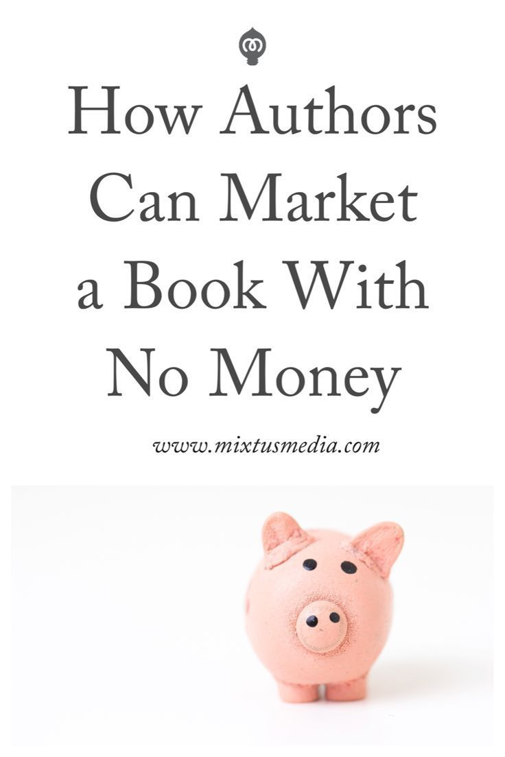 One of the biggest misconceptions that many authors have is that it's going to cost them hundreds or even thousands of dollars to market their book. That's simply not the case. Spending thousands of dollars on marketing isn't a guarantee that your book wi