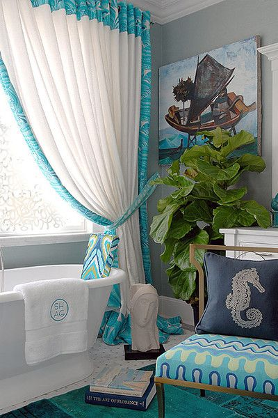 House of Turquoise:  Trina Turk for Schumacher | Carole Reed Design
