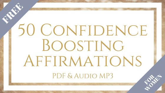FREE - 50 Confidence Boosting Affirmations. PDF and Audio MP3.  Free Download to boost your confidence