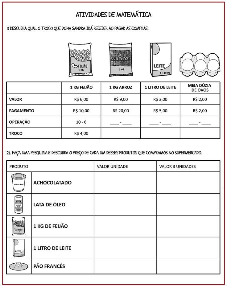 Tabela – calculando preço  |   Rérida Maria