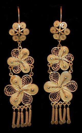 Oaxaca filigree earrings